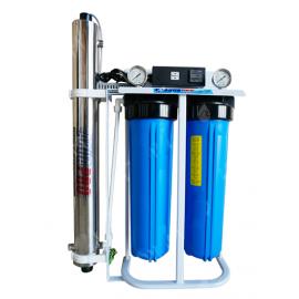 Système de filtration d'eau de puits Big Blue 20'' avec stérilisateur UV