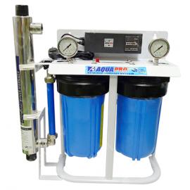 Système de filtration d'eau de puits Big Blue 10'' avec stérilisateur UV