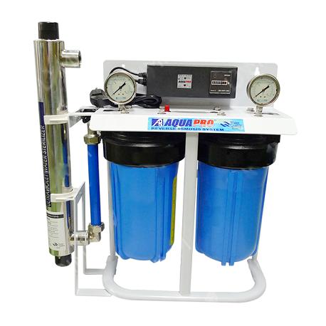 Système de filtration d'eau de puits Big Blue 10'' KDF avec stérilisateur UV