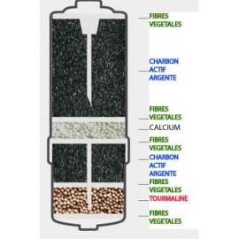 Filtre BIOSTONE BLOC CHARBON (0.1 micron)