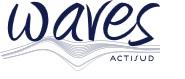 Logo Waves actisud. Centre commercial à Metz